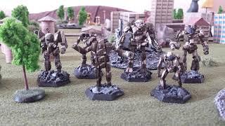 Painting Battletech Miniatures: Parade Colors Vs. Combat Colors