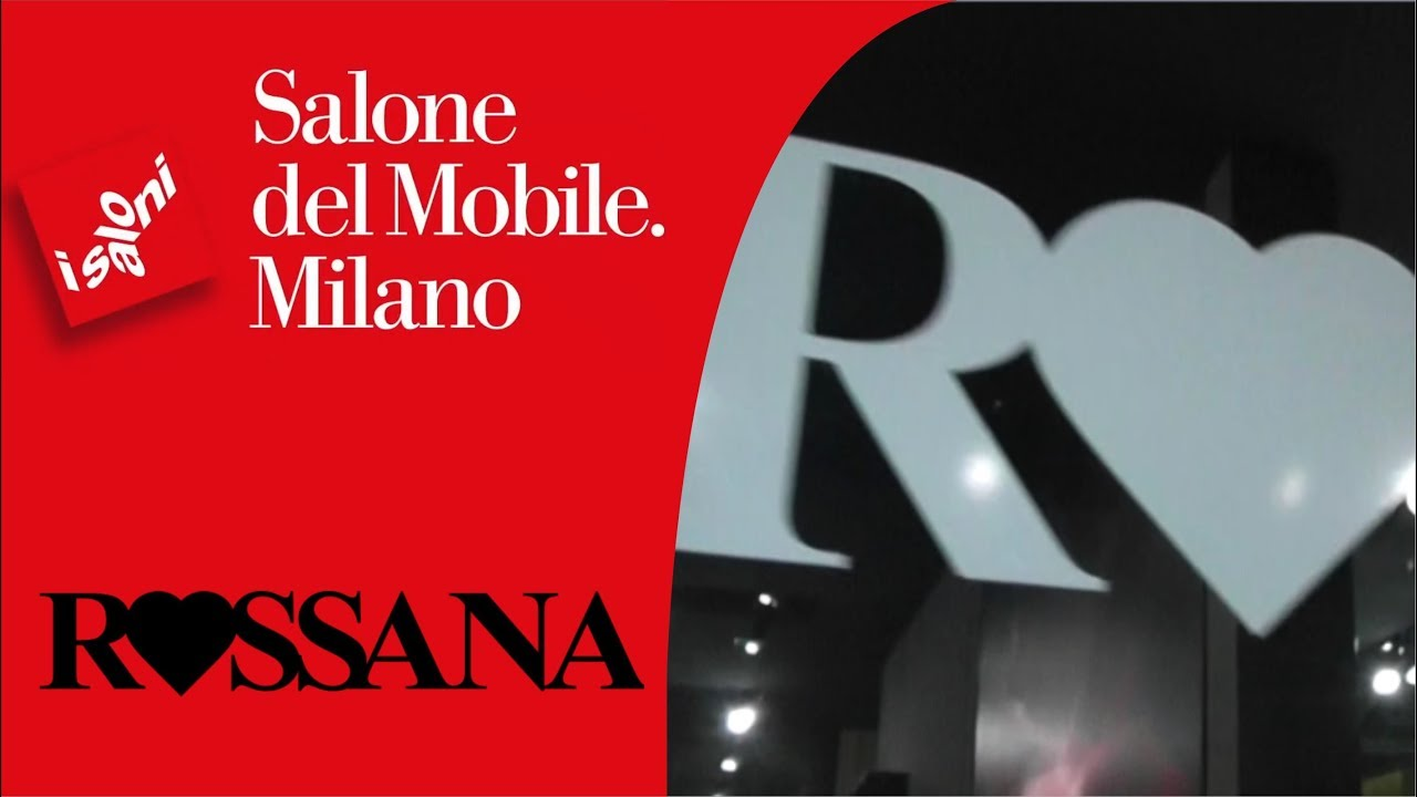 Rossana Cucine - Salone del Mobile 2018 - YouTube