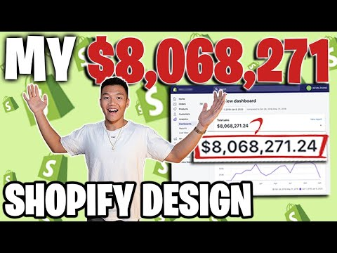 [Beginner Tutorial 2020] Shopify Design from Scratch That Made Me Millions Step by Step thumbnail