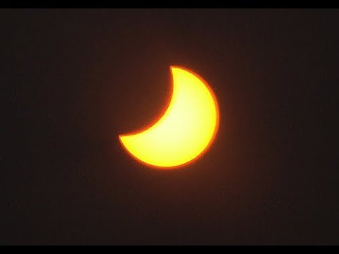 Solar Eclipse - Watch a time lapse of the total solar eclipse from Central Oregon 2017