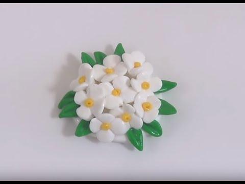 tuto p te polym re r alisation d 39 un cabochon de fleurs. Black Bedroom Furniture Sets. Home Design Ideas