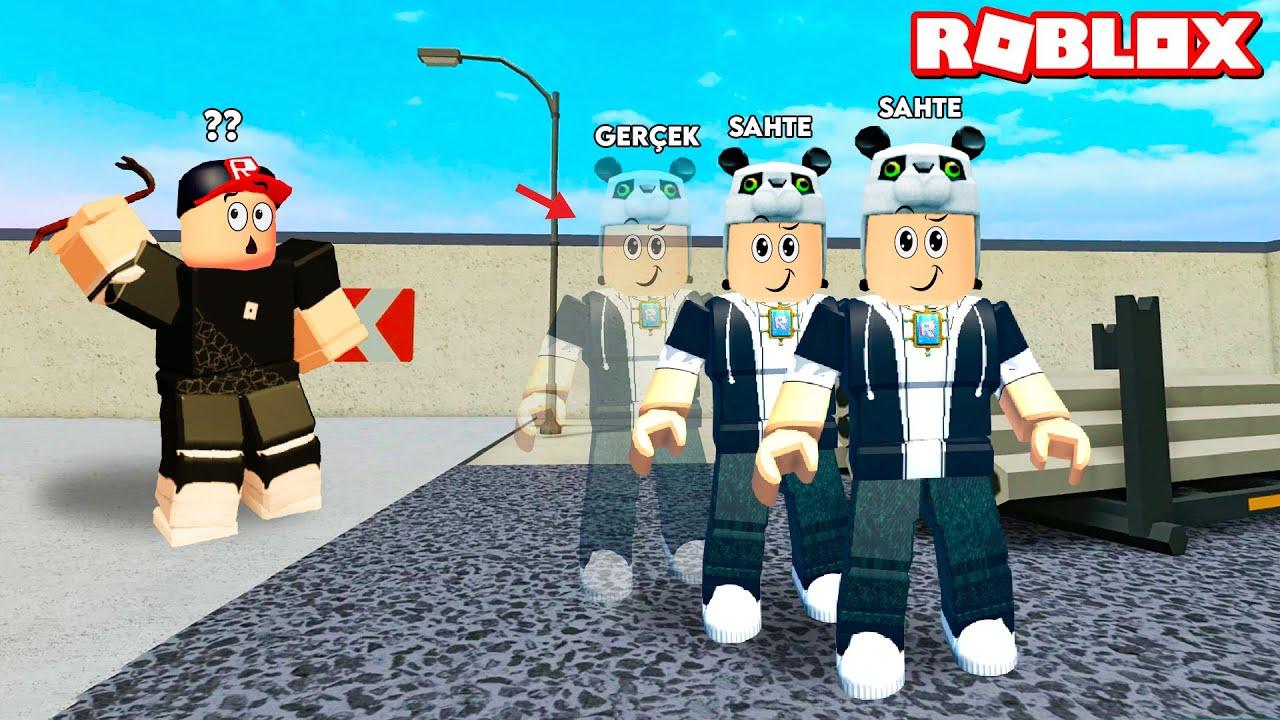 Görünmezlik Gücünü Kullandım!! Hangisi Gerçek Heronpuppy? - Panda ile Roblox Undercover Trouble