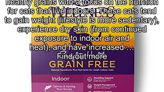 Wellness Complete Health Natural Grain Free Dry Cat Food, Indoor Health Salmon & Herring Meal Recip