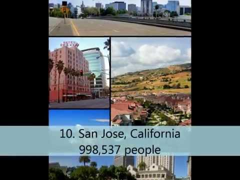 Top 10 Largest City Populations in California