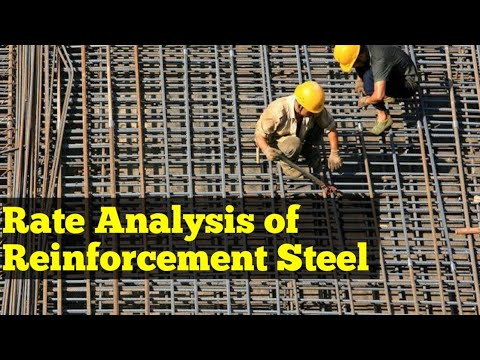 Rate Analysis Of Reinforcement Steel - Right Method For Costing Of Reinforcement Steel Rebars