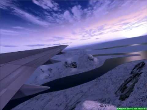 Air Greenland 757 Full Power Takeoff Kangerlussuaq (FSX)