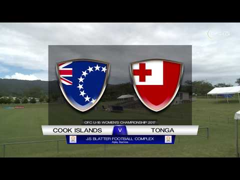 OFC U-16 WOMEN'S CHAMPIONSHIP | COOK ISLANDS v TONGA Group B Preview