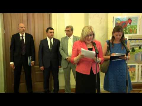 2013 World Refugee Day at Ukrainian Parliament