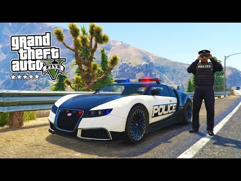 GTA 5 PC Mods - PLAY AS A COP MOD #6! GTA 5 Police BUGATTI LSPDFR Mod Gameplay! (GTA 5 Mod Gameplay)