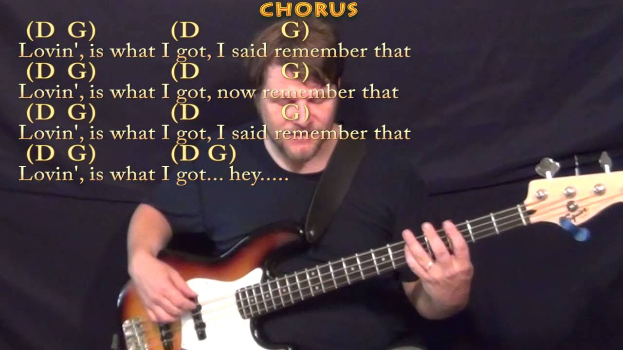 What I Got Sublime Bass Guitar Cover Lesson With Chordslyrics