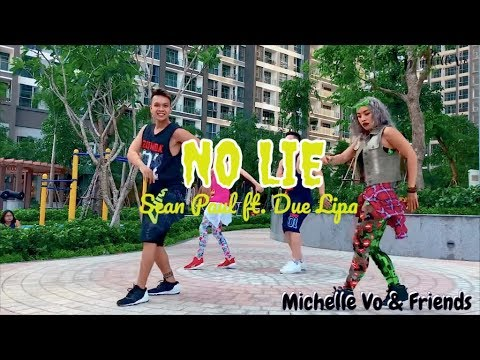 No Lie  By Sean Paul Ft. Due Lipa | Michelle Vo And Friends | Zumba Fitness