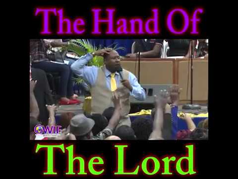 The Hand Of The Lord -  Apostle Andrew Scott