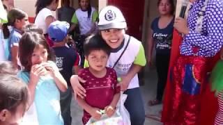 Visitamos a los niños del A.H Santo Domingo de Huarmey