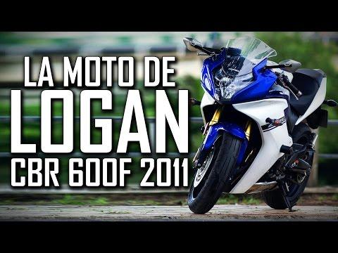 La moto de LOGAN - HONDA CBR 600F 2011