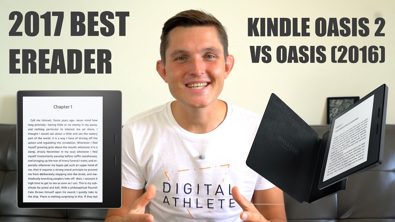 Best eReader - Kindle Oasis 2 Review and Comparison with 2016 Kindle Oasis