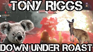 Tony Riggs DOWN UNDER ROAST! HILARIOUS!!! - The Division
