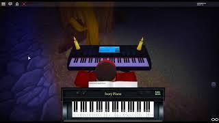 Gymnopédie #2 par: Erik Satie sur un piano ROBLOX.
