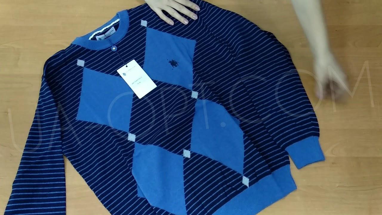 thumbnail video Мужские свитера оптом USA Polo 8,9 €/шт. лот #232
