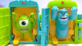 MONSTERS UNIVERSITY Monster Door モンスターズ・ユニバーシティ おもちゃ モンスタードア thumbnail