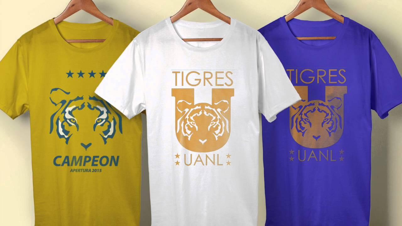 545910f46ff76 Tigres Campeon Apertura 2015 - Playeras - YouTube
