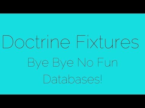 Installing Doctrine Fixtures Bundle