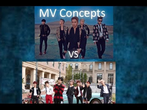 Big Bang vs BTS: MV Concepts