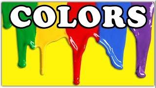 Русский и английский язык для начинающих.Учим цвета.Цвета-Colors