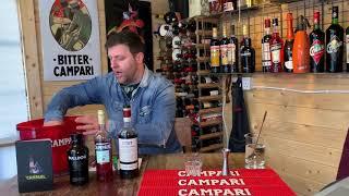 Paolo from Campari creates the perfect negroni