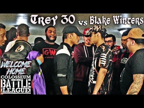 The Colosseum Battle League - Trey30 vs Blake Winters - Welcome Home Event