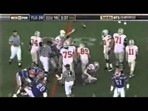 2007 BCS Championship Game: #2 Florida Gators vs. #1 Ohio State Buckeyes