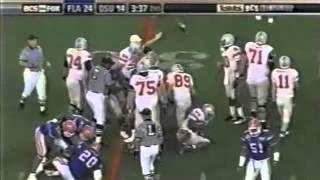 2007 BCS Championship Game: #2 Florida Gators vs. #1 Ohio State Buckeyes
