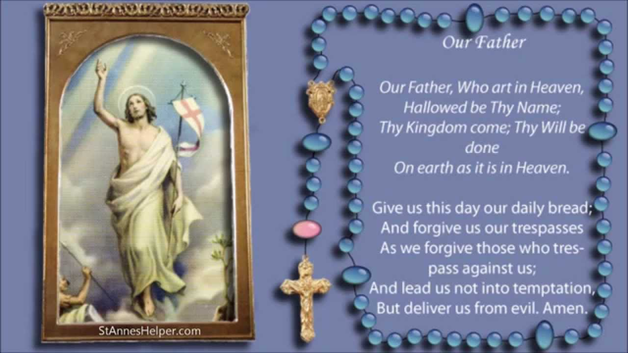 how to decide the mysteries when praying the rosary
