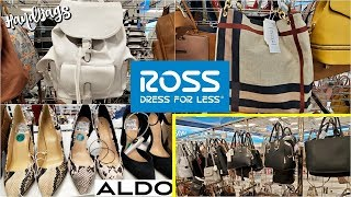 Ross DESIGNER BRANDS FOR LESS * HANDBAGS & SHOES * SHOP WITH ME 2019