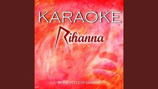 Disturbia (Karaoke Version)