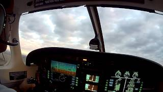 Piper Archer normal takeoff, Glass Cockpit