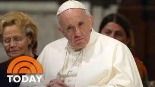 Pope Francis Facing Pressure To Address Priest Sex Abuse Cover-Ups | TODAY