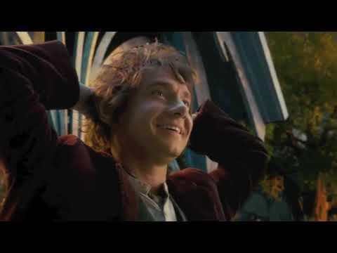 Martin Freeman As Bilbo Baggins - An Adventure In Rivendell (The Hobbit EXTENDED SCENE)🎬
