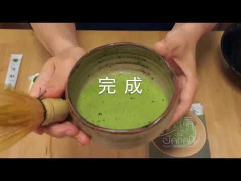 【好日本食】日本抹茶刷茶方法