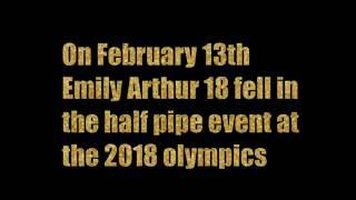 Emily Arthur Snowboard Crash Information NOT actual video