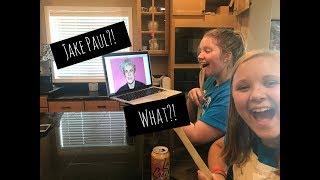 COOKING WITH JAKE PAUL?!