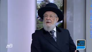 טוקר בשישי - הרב ישראל מאיר לאו מספר על בנו הרב דוד לאו כרב הראשי לישראל