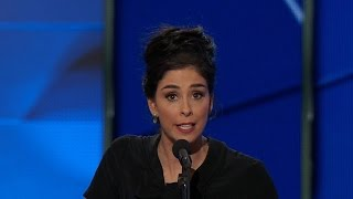 "Sarah Silverman calls out ""Bernie or bust"" supporters at DNC"
