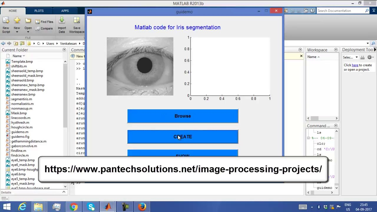 Matlab Code for Iris Segmentation