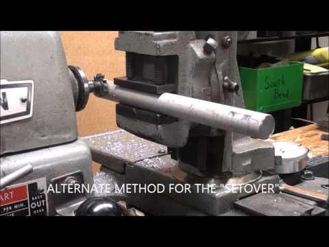 SHOP TIPS #284 Cutting a Woodruff Keyseat on Atlas Lathe -MILLING ATTACHMENT method tubalcain