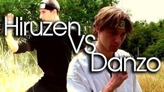 Danzo VS Hiruzen (Third Hokage) - Live Action Naruto Fight [2014]