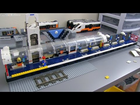 LEGO Train Station MOC update #4