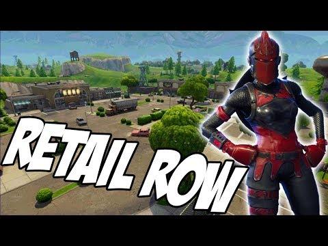 RETAIL ROW SHOWDOWN (Fortnite)
