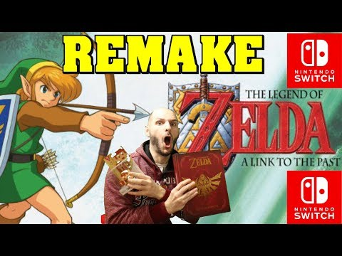 ZELDA A LINK TO THE PAST REMAKE PARA SWITCH! - Sasel