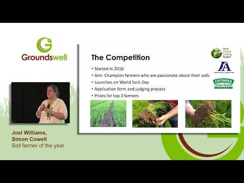 Farm Carbon Cutting Toolkit - Soil Farmer Of The Year, Chaired By Joel Williams At Groundswell 2019