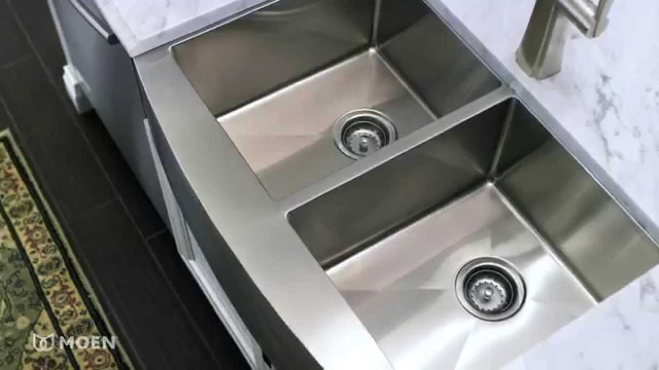 Etonnant Moen Apron Front Sinks | Moen Features Spotlight   YouTube